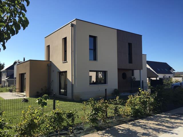 Maison d'Architecte à Belbeuf située à 7' de Rouen - Belbeuf - Casa