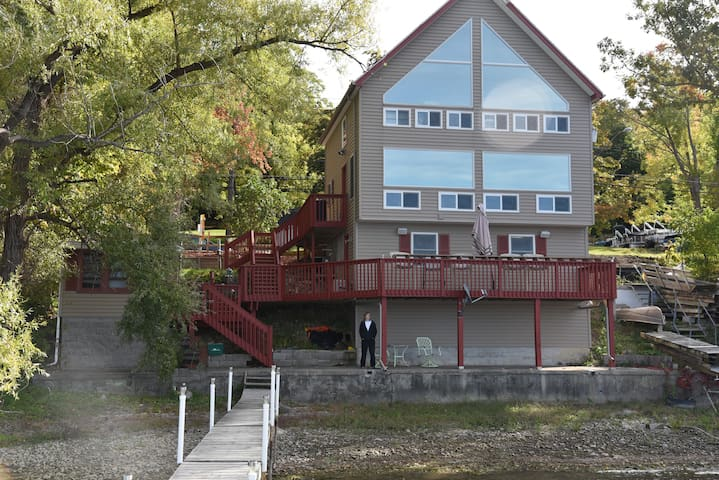 Spectacular views on Conesus Lake front - Conesus - Casa