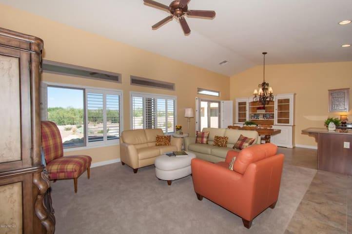 Saddlebrooke Home - Tucson - Hus