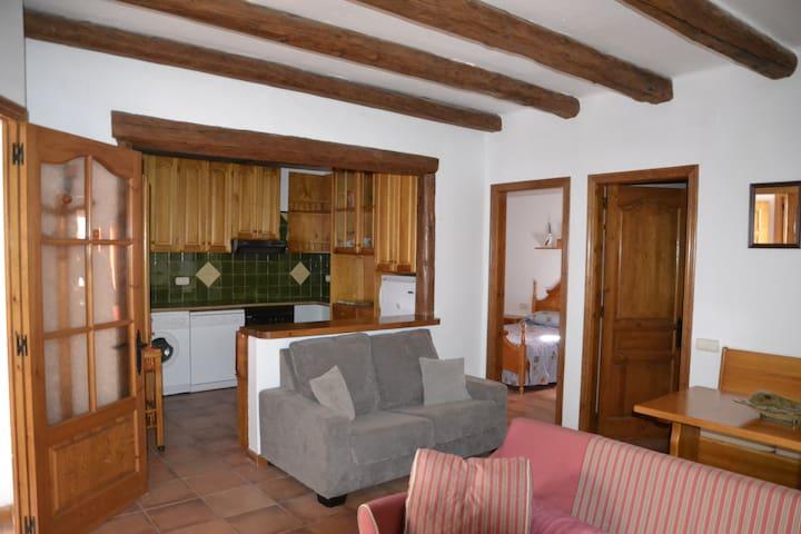 Apartamento rústico y acogedor en Alta Ribagorça - Vilaller - Daire