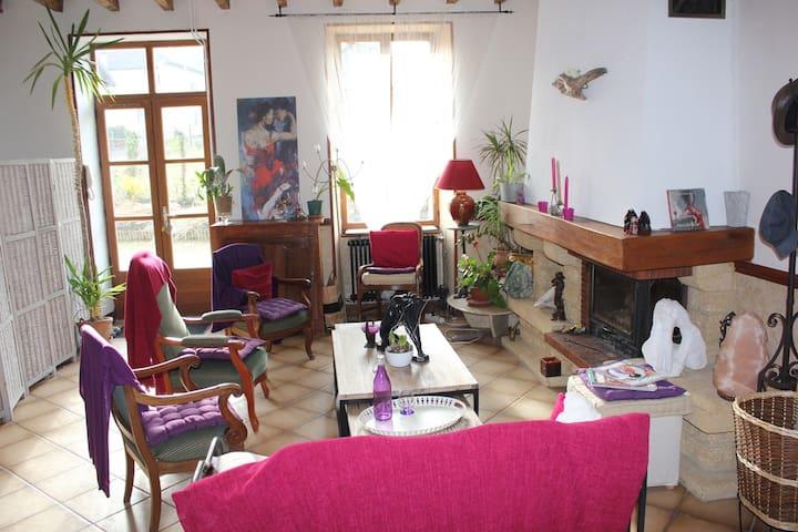 Chambre des Sens - Dolomieu - Rumah