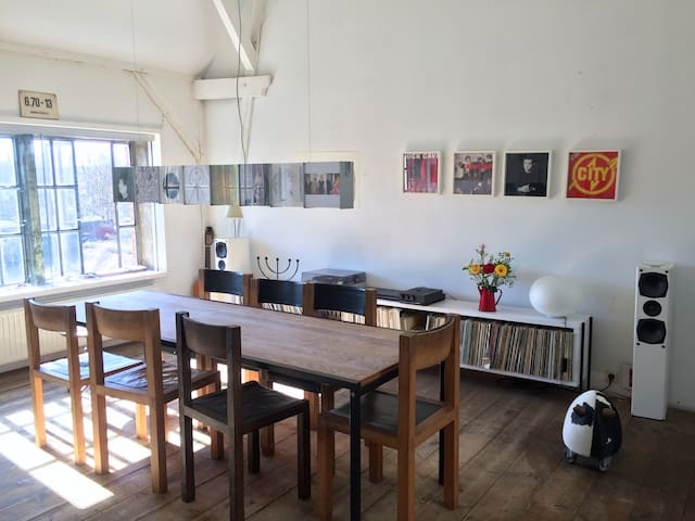 Two rooms in an old factory building - Hambourg - Loft