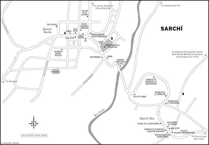 Sarchi La Cuna de Artesania de Costa Rica - San Pedro - Huis
