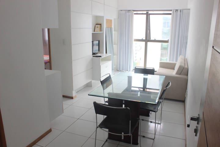 Flat mobiliado Beira-Mar - Recife - Appartement