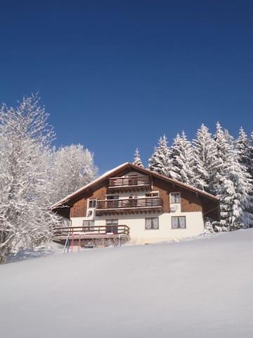 Chalet Nordland, vue sur les Alpes. - Les Rasses
