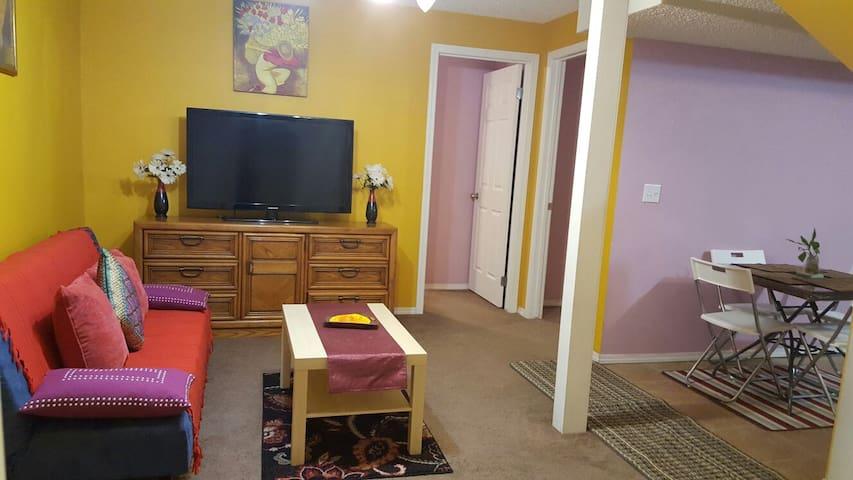 Clean,Spacious & Quiet Apartment Suite - Calgary - Hus