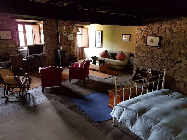 Casa de pueblo para descanso y ocio - Corullon - Huis