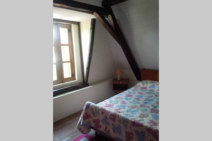 Charmante maison de village - Chambre double - Lembeye