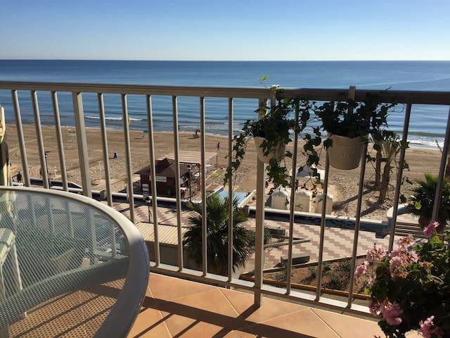 Spain-Mediterranean beachfront. Relax+wifi+golf - Mareny de Barraquetes - Byt