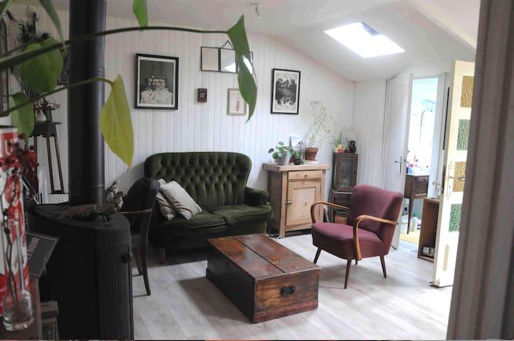 Charmante maisonnette déco rétro, avec courette - Rennes - Huis