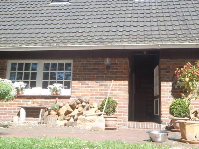 Ruhiges Zimmer auf dem Land - Wardenburg - Bed & Breakfast