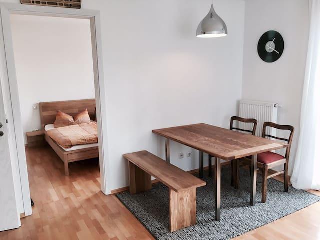 Tolle Wohnung nahe der Innenstadt - Regensburg - Apartemen