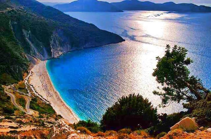 delight Myrtos beach staying in Myrtos hotel - Divarata - Appartement