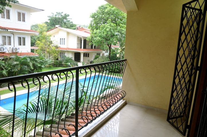 Breathtaking Goa Apartment Rental - North Goa - Διαμέρισμα