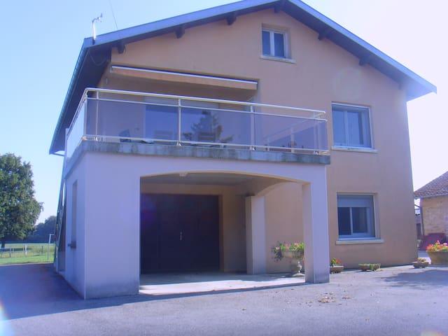 Acceuil à la ferme en Bresse - Courtes - 公寓
