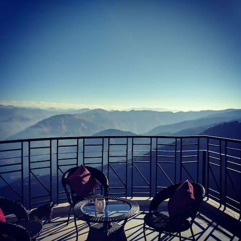Cozy 2BHK Attic home: Amazing view Mashobra Shimla - 西姆拉(Shimla)