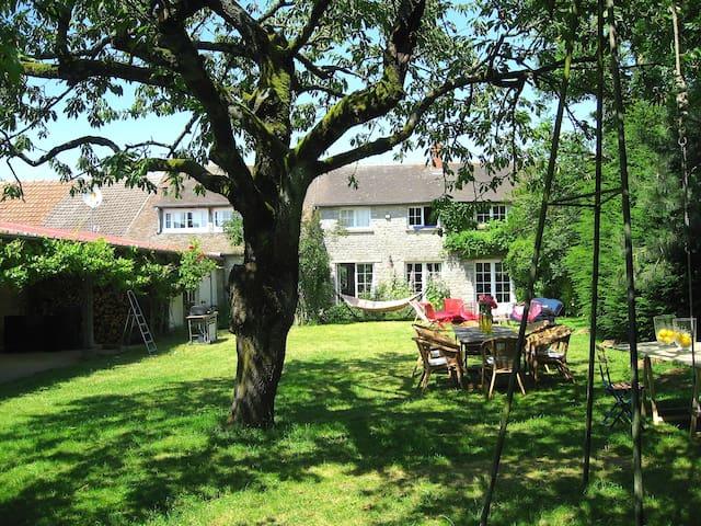 Charming house 70 km from Paris -  Nangeville - Huis