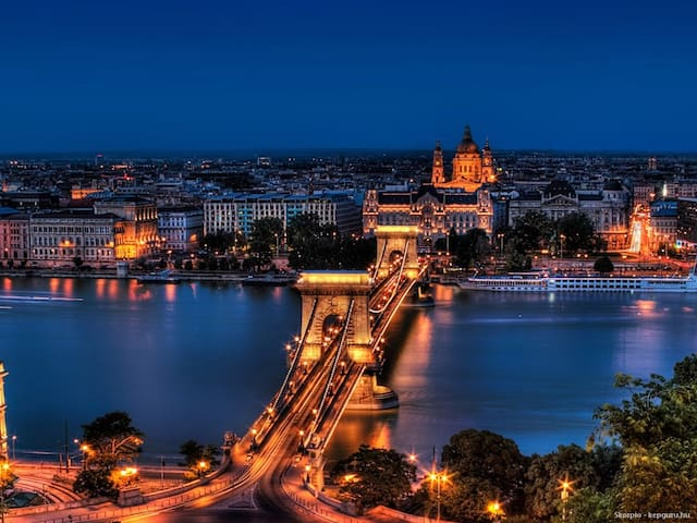 Friendly flat in Buda with panorama - Budapest - Apartemen