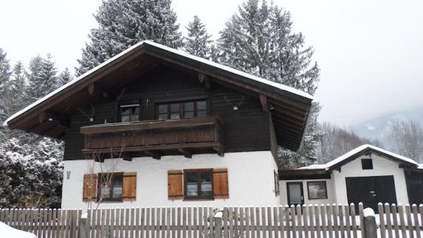 Ferienwohnung Gletschergarten, Fischbach am Inn - Flintsbach am Inn - Квартира