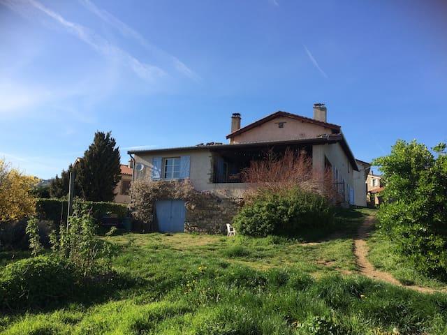 Chambres privées dans maison au calme - Saint-Didier-Sous-Riverie - Hus