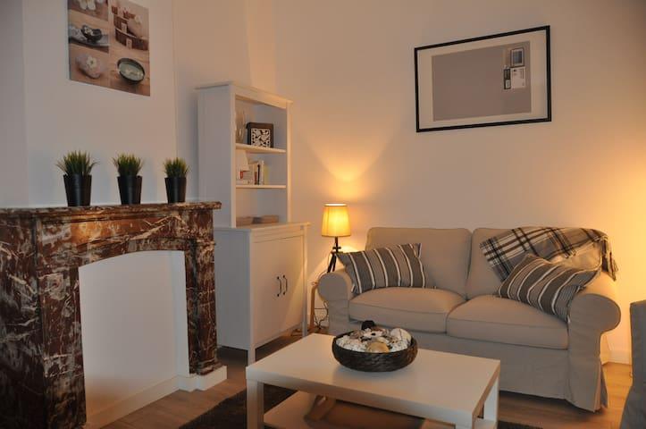 Bel appartement duplex cosi tout équipé - Liège - Apartemen