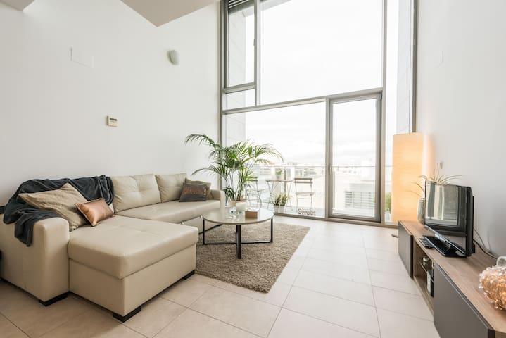 Loft con maravillosas vistas - サン·セバスティアン·デ·ロス·レイエス - アパート