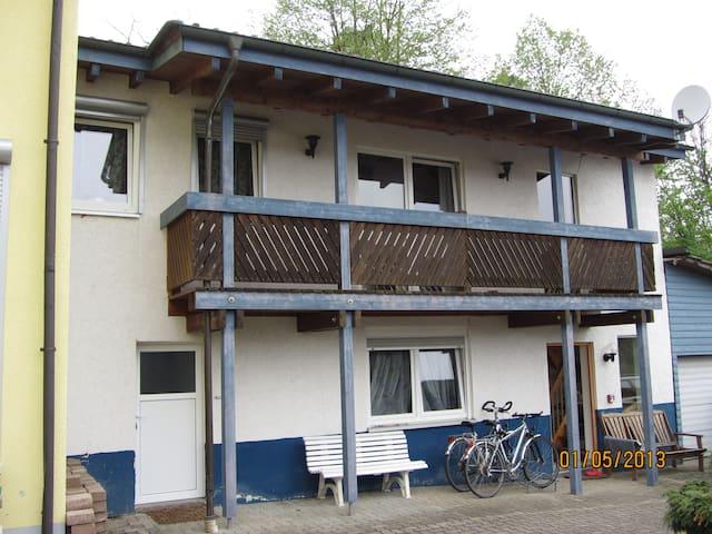 50qm-Apartment am Wald nahe KIT - Stutensee - Casa