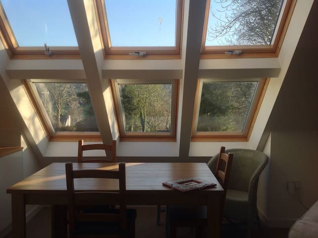 Light, airy self-contained annexe - Hilton, Blandford Forum - Huis
