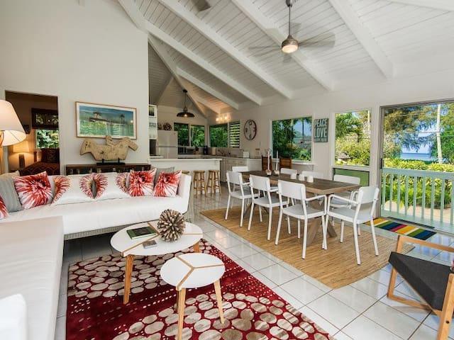 Hanalei Bay -  3 bedrooms with hot tub & game room - Hanalei