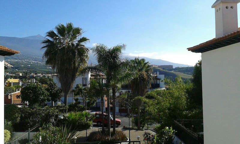 Cozy Apartment With Views to El Teide - Puerto de la Cruz - Departamento