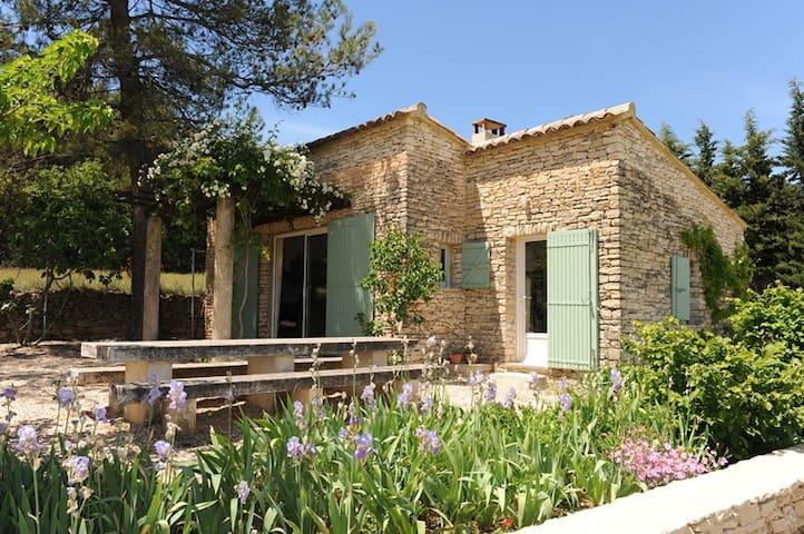 beauté du site, vue magnifique, maison confortable - Maubec - Huis
