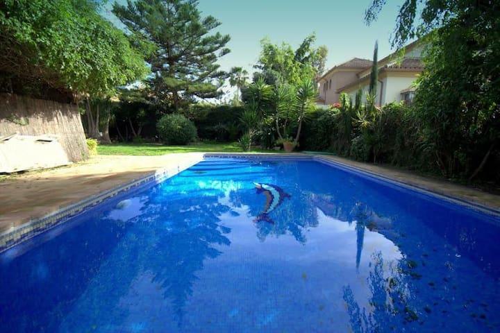 lovely one level villa beachside - El Paraíso - Casa