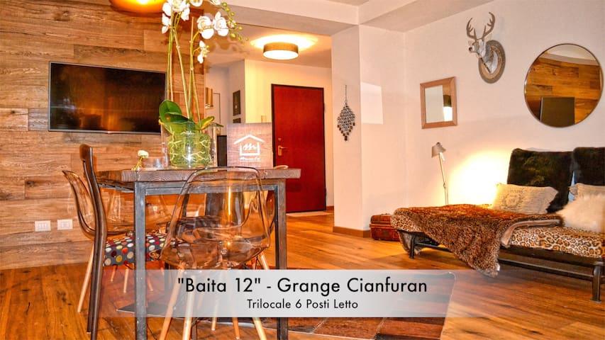 """""""Baita 12"""" Cianfuran - Chalet with Private Garden - Bardonecchia - Departamento"""