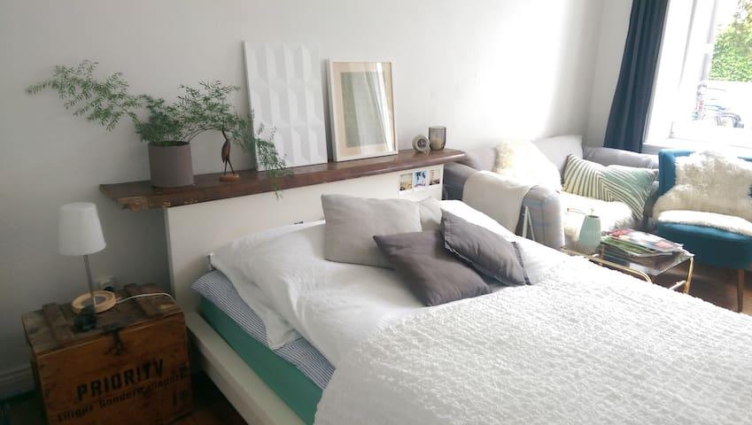 Schönes Zimmer in WG zentral & nah zur Förde - Kiel - Appartement