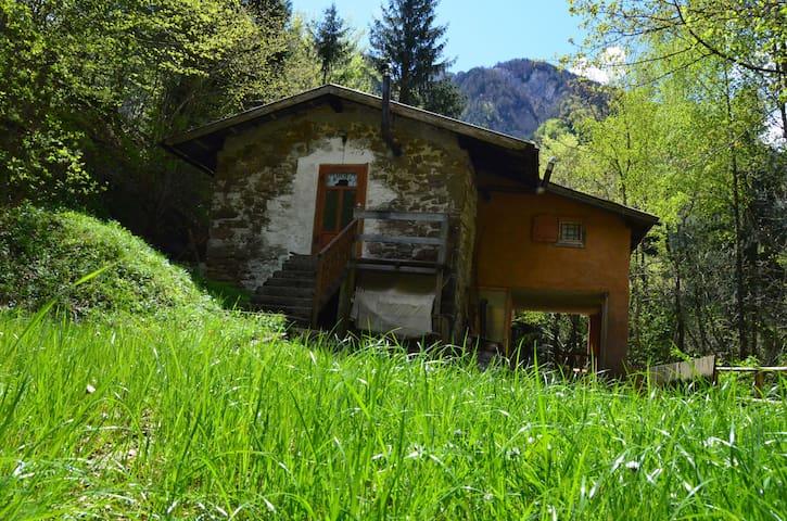 Casetta di Montagna del XIX secolo  - Moggio Udinese , fraz. Bevorchians - Hus