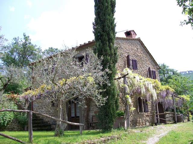 Private Panoramic Pool Paradise - 3 bedrooms for 6 - Cortona - Hus