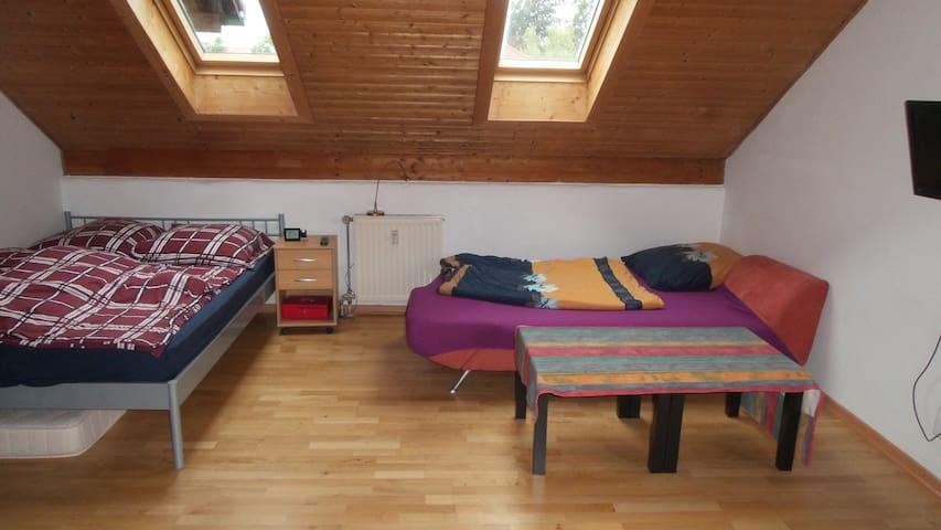 Appartem. in Gröbenzell b. München - Gröbenzell - Apartament
