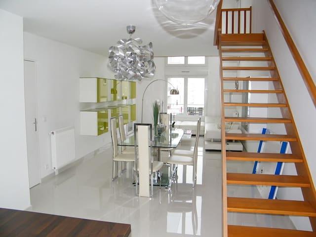 Chambre double dans bel appartement neuf - Stains - Leilighet
