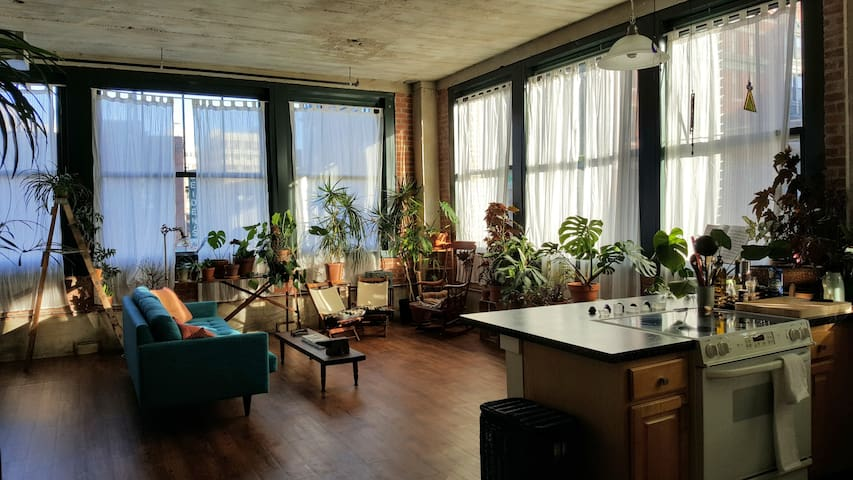 Guest suite in downtown loft - Kansas City - Leilighet