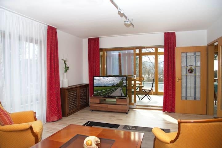 Ferienwohnung I im Gästehaus Bauerngarten - Bad Buchau - Lyxvåning
