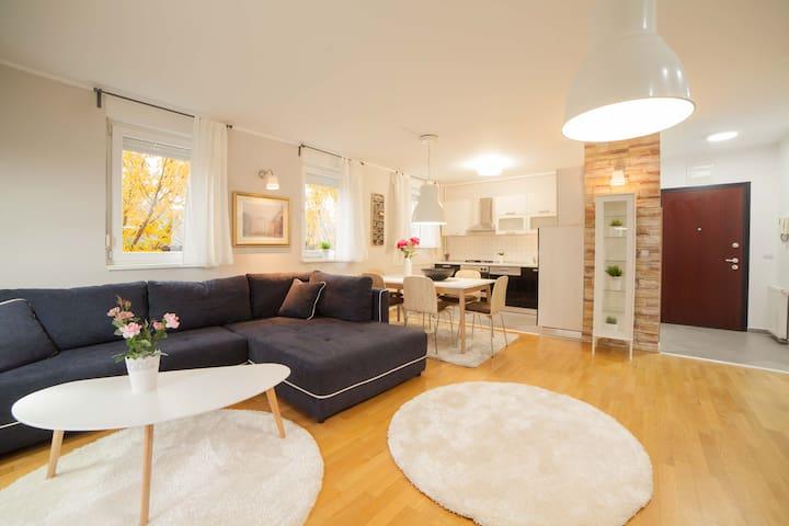 Luxurious, classy apartment near Arena Center - Zagreb - Lägenhet