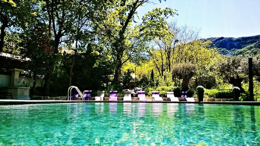 Mas d'exception Piscine-SPA-Sauna - Sisteron - Rumah