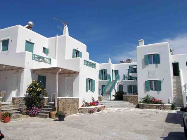 Asteri Mykonos apartment for 2 - Ornos - Daire
