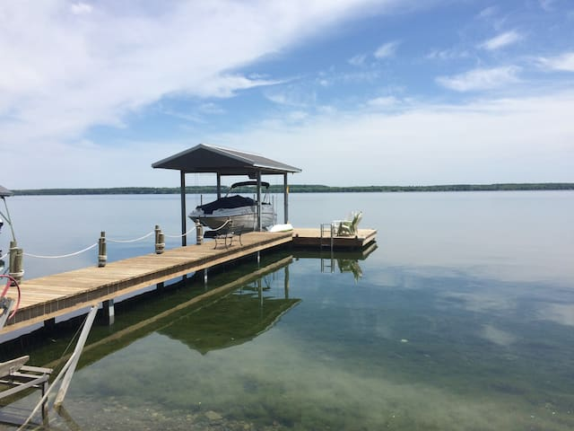 Chip House at Falling Acorn Lake Lodge Seneca Lake - Geneve - Leilighet