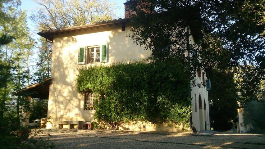 Double room in charming Tuscan countryside villa - Terranuova Bracciolini - Villa