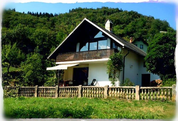 Holiday home rental House Bela - Bohinjska Bela