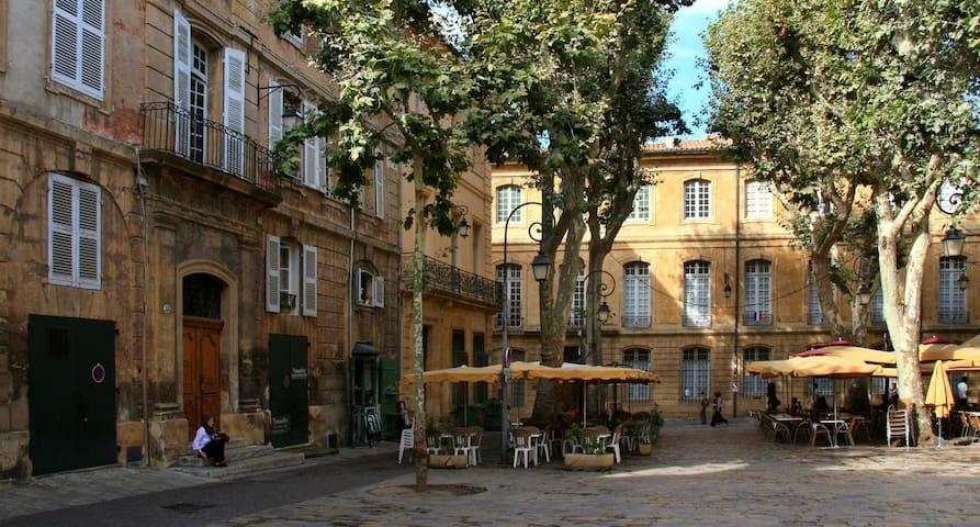 Little flat - Historical Center - Aix-en-Provence - Leilighet