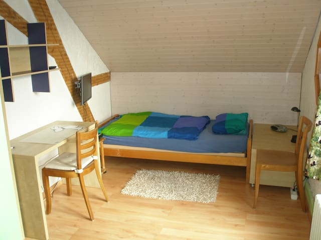 Cosy room between Aarau and Olten - Niedergösgen - 家庭式旅館