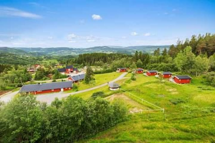 In the hills of Orkdal - with beautiful view! - Fannrem - Appartement