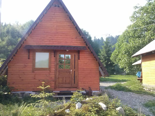 Double cabin in the the mountains. - Шешоры